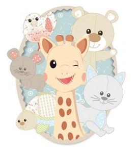 Žirafa Sophie in njeni prijatelji